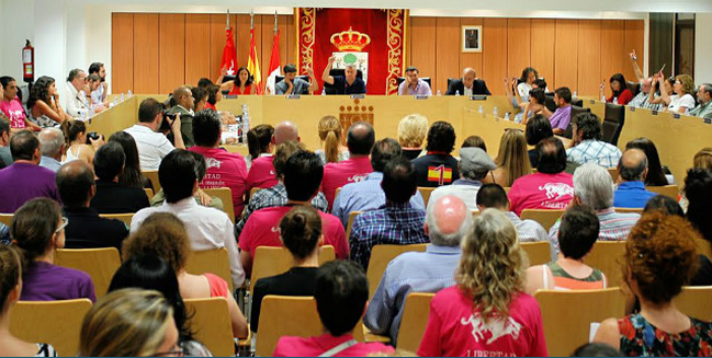 Ciudadanos San Sebastián de los Reyes pleno Toros