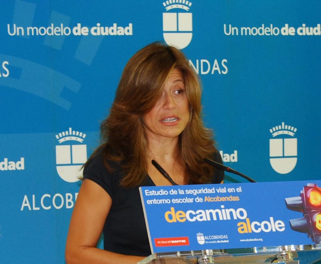 Eva Tormo durante su etapa como concejala de Educación y Cultura en Alcobendas. (Foto: La Tribuna de La Moraleja)