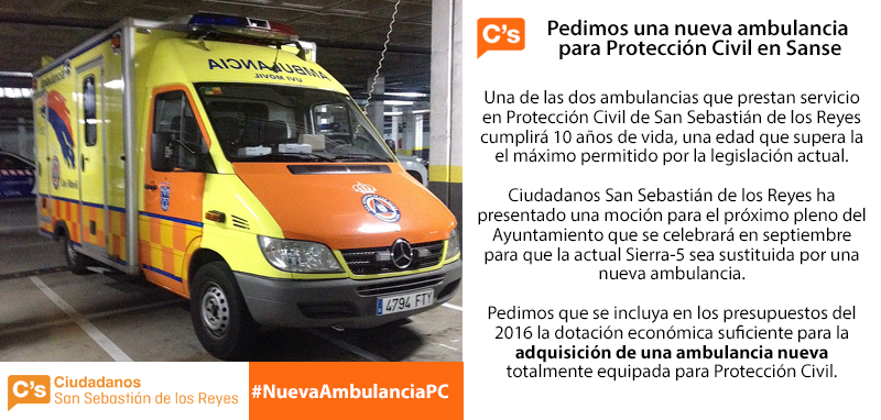 Ciudadanos-San-Sebastián-de-los-Reyes-Ambulancia-Protrección-Civil