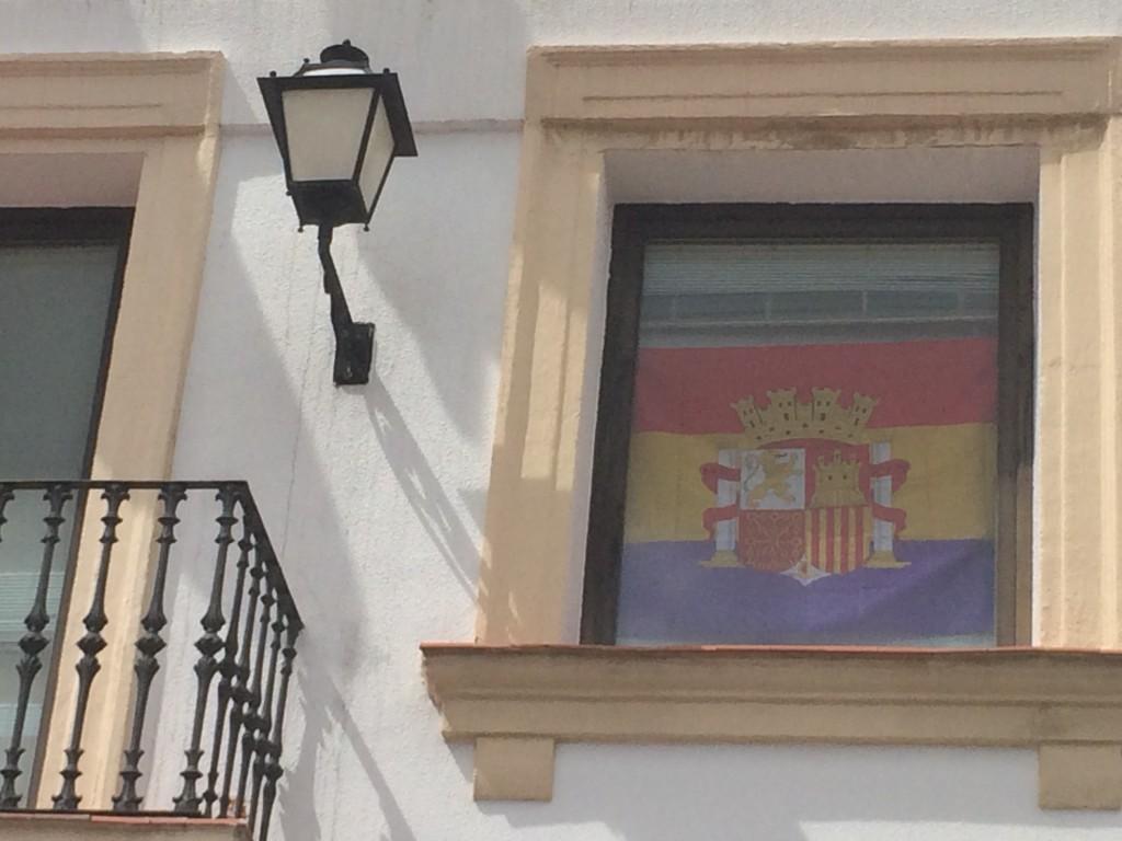 Bandera Preconstitucional Ayuntamiento San Sebastián de los Reyes